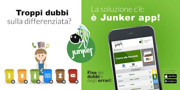 Junker: l'app che vi aiuterà a far la differenziata a scuola (e non solo)