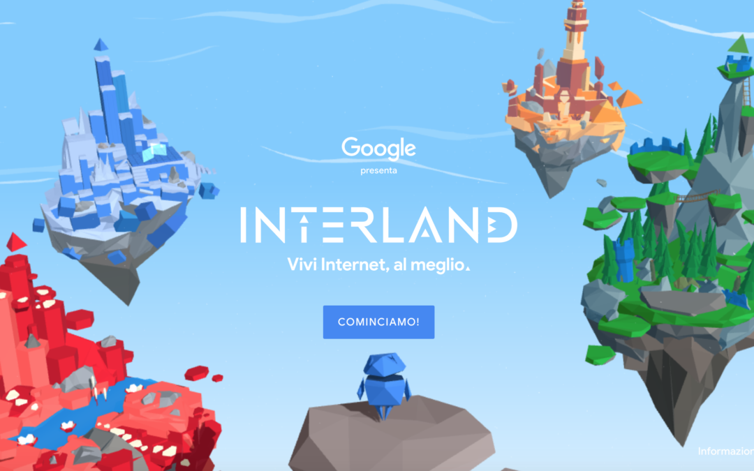 """Sicurezza online: Google lancia il gioco """"INTERLAND"""""""