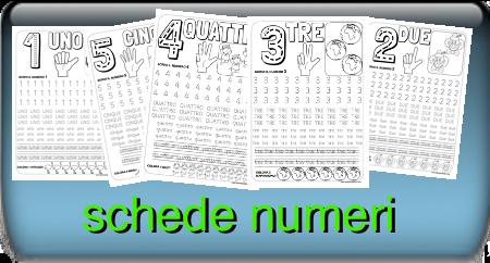 schede numeri