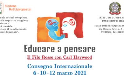 Educare a pensare: il convegno dedicato a Carl Haywood
